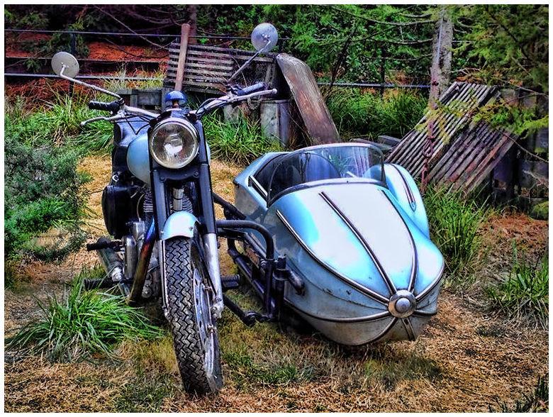 ハグリッドのバイク USJ ハリポタエリア