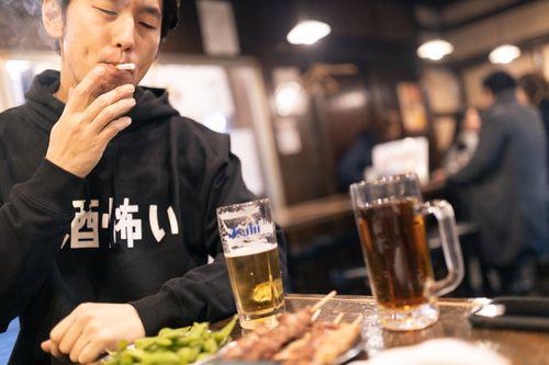 居酒屋のタバコ
