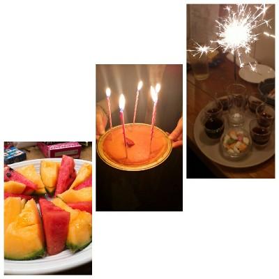 改めてお誕生日ありがとうございました!