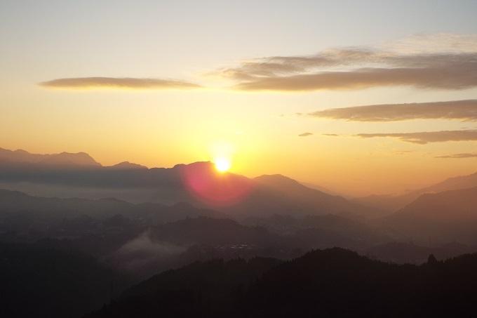高千穂の日の出