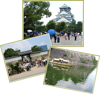 昨年の大阪城
