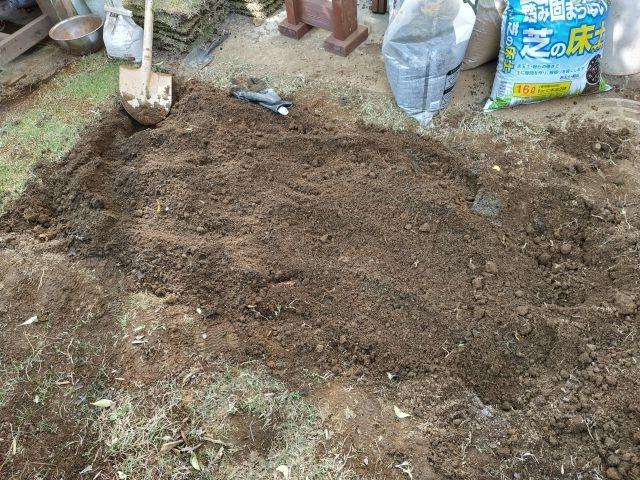 芝 土壌改良