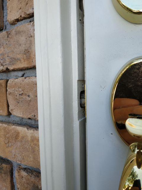 玄関ドア 補修 DIY