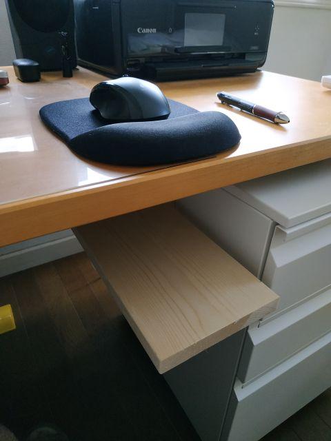 マウステーブル DIY