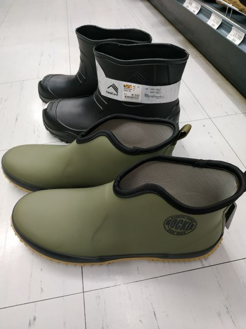 ワークマン ショート長靴