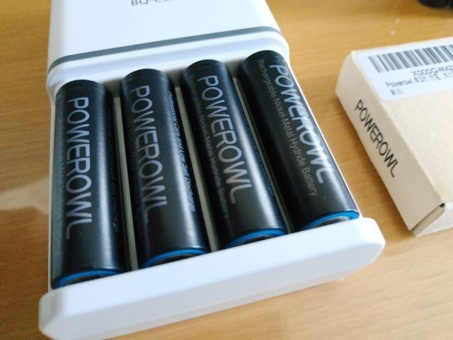 Powerowl単3形充電式ニッケル水素電池