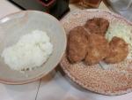 食:渋谷:とりかつチキン:とりカツ玉ねぎフライ