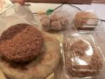 食:砂町銀座:マグロメンチポンペイごぼうメンチシューマイあさりコロッケ