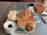 上野:喫茶ギャラン:トーストセット
