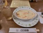 食:浅草:神谷バー:エビグラタン