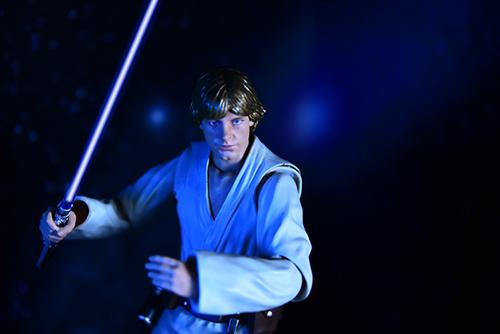 ツバキアキラが撮った、S.H.フィギュアーツのルーク・スカイウォーカー。星空の中のルーク・スカイウォーカー。