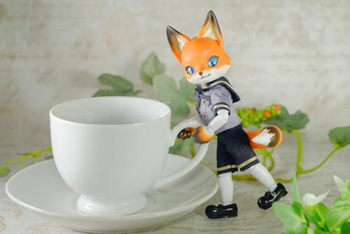 ツバキアキラが撮った、時兎-異夢-さんのKonちゃんが、コーヒーを淹れてくれたみたいです。