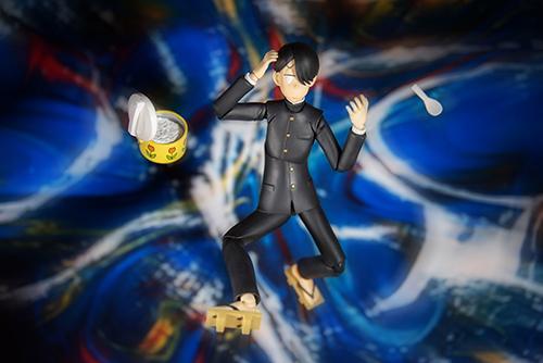 ツバキアキラが撮った、figma、R・田中一郎。まぬけ時空に引きずり込まれる、あ~るくん。