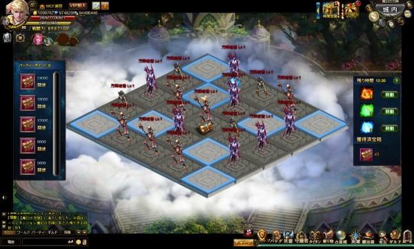 基本プレイ無料のブラウザ王道ファンタジーRPG『ワールドエンドファンタジー』 新ダンジョン「魔幻の方陣」やサブガーディアンなどを追加したぞ