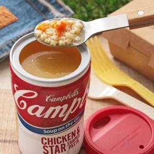 キャンベル スープオンザゴー チキンアンドスターズ