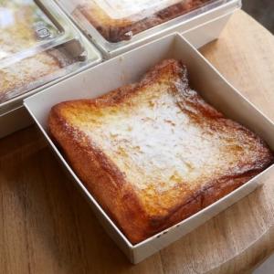 フレンチトースト(3個)メープルシロップ付き