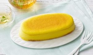 マンゴーのチーズスフレ