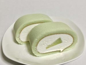熊本県産肥後グリーンメロンのミルキークリームロール