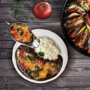 ごろごろ夏野菜 自家製ラタトゥイユカレー
