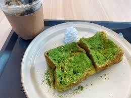 抹茶のフレンチトースト