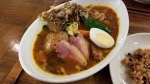 紅茶鴨とキノコのスープカレー