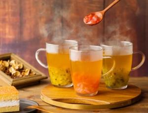 レモングレープフルーツ翠玉烏龍茶
