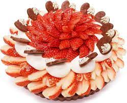 「恋みのり」いちごとラズベリームースのチョコケーキ