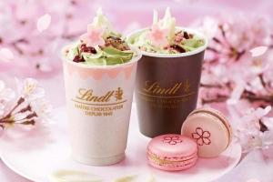 リンツ さくら咲く チョコレートドリンク(アイス)