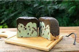 512CAFE チョコミント食パン