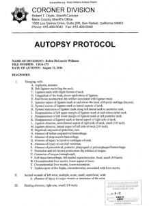 Robin William Autopsy Report1