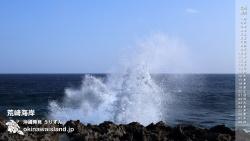 荒崎海岸 デスクトップカレンダー2月