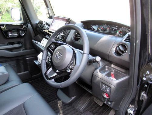 新型運転席