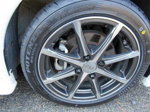 S6車検タイヤ