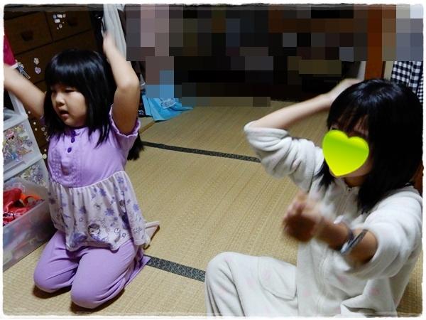 二の腕痩せダンス