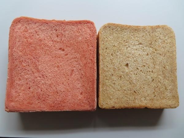 紅麹食パン・胚芽入り食パン