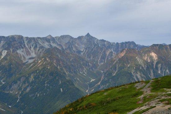 蝶ヶ岳、大滝山02