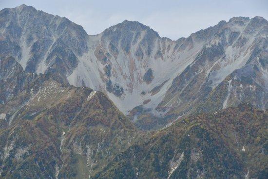 蝶ヶ岳、大滝山05
