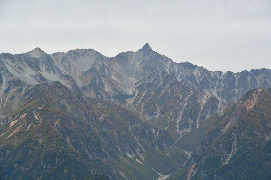 蝶ヶ岳、大滝山07