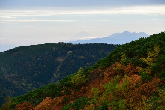 蝶ヶ岳、大滝山09