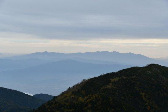 蝶ヶ岳、大滝山10