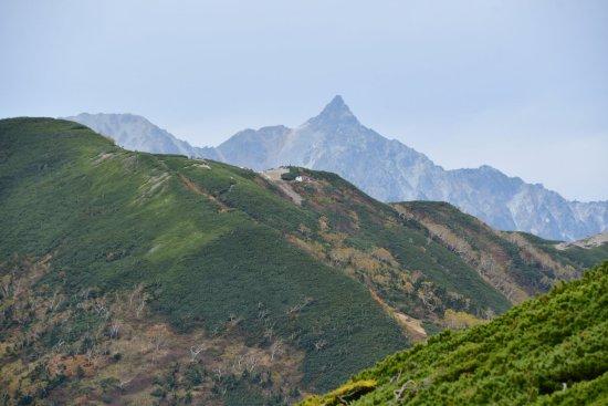 蝶ヶ岳、大滝山11
