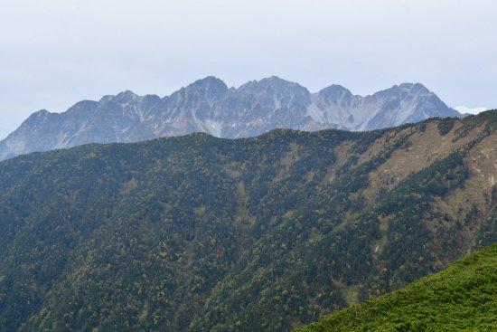 蝶ヶ岳、大滝山12