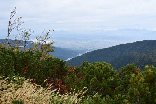 蝶ヶ岳、大滝山13
