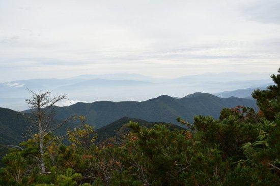 蝶ヶ岳、大滝山14
