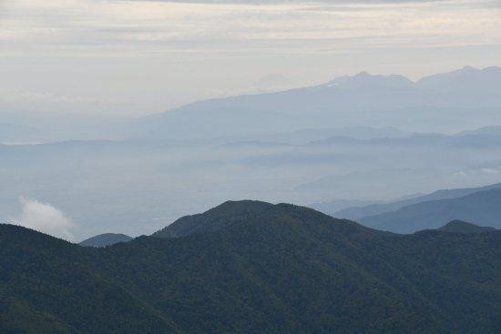 蝶ヶ岳、大滝山15
