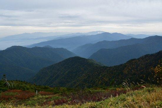 蝶ヶ岳、大滝山16
