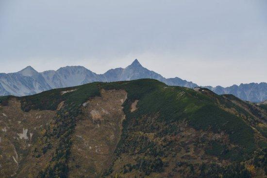 蝶ヶ岳、大滝山17