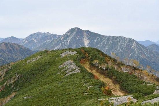 蝶ヶ岳、大滝山18