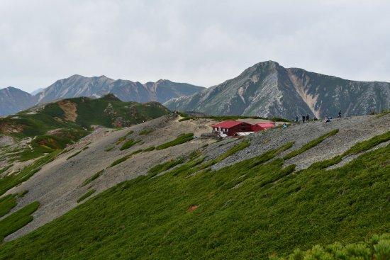 蝶ヶ岳、大滝山20