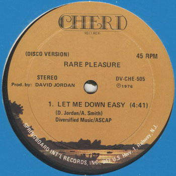 RARE PLEASURE Let Me Down Easy_20200328
